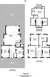 Large floorplan for Wimbledon Park Road, Wimbledon, SW19
