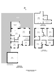 Large floorplan for Woodham Gate, Woodham, GU21