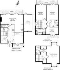Large floorplan for Duchess of Kent Close, Queen Elizabeth Park, GU2