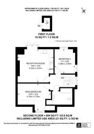 Large floorplan for Marlow Road, Anerley, SE20