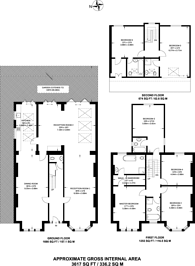 Large floorplan for Victoria Crescent, Gipsy Hill, SE19
