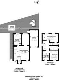 Large floorplan for Tideway Close, Ham, TW10