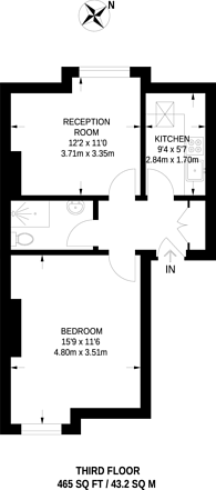 Large floorplan for Balham High Road, Balham, SW12