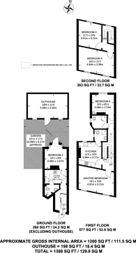 Large floorplan for Stanstead Road, Forest Hill, SE23