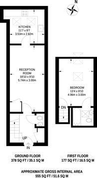 Large floorplan for St Frideswides Mews, Poplar, E14