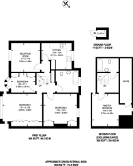 Large floorplan for Henville Road, Bromley, BR1