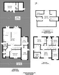 Large floorplan for Nelson Road, New Malden, KT3