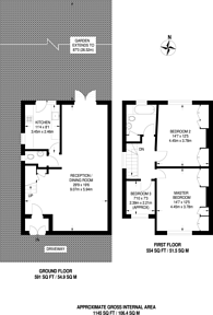 Large floorplan for The Limes Avenue, New Southgate, N11