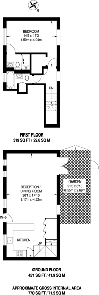 Large floorplan for Camden Mews, Camden, NW1