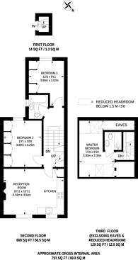 Large floorplan for Fermoy Road, Maida Hill, W9