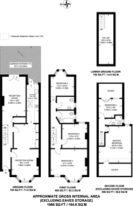 Large floorplan for Drayton Road, Leytonstone, E11