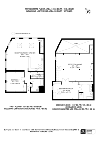 Large floorplan for Mount Pleasant Hill, Clapton, E5