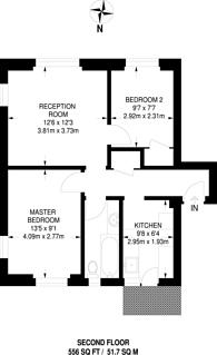 Large floorplan for Lushington Road, Beckenham Hill, SE6