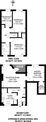 Large floorplan for St Matthews Road, Brixton Hill, SW2