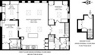 Large floorplan for Bond Street, Turnham Green, W4