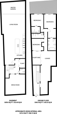Large floorplan for Palfrey Place, Oval, SW8