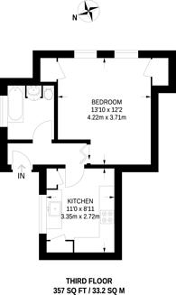 Large floorplan for Wilshaw House, Deptford, SE8