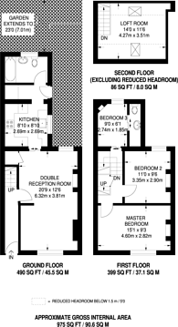 Large floorplan for Hastings Road, Croydon, CR0