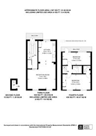 Large floorplan for Durham Terrace, Notting Hill, W2