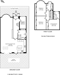 Large floorplan for Mount Pleasant Road, Queen's Park, NW10