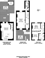 Large floorplan for Mortimer Road, Islington, N1