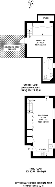 Large floorplan for Moreton Street, Pimlico, SW1V