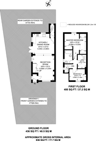 Large floorplan for Camphill Road, West Byfleet, KT14