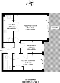Large floorplan for Smugglers Way, Wandsworth Town, SW18