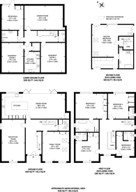 Large floorplan for Sandy Lane, Sutton, SM2