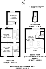 Large floorplan for Halley Road, Manor Park, E12