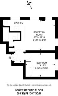 Large floorplan for Montagu Square, Marylebone, W1H