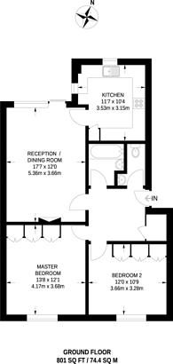 Large floorplan for Tayfield Close, Ickenham, UB10