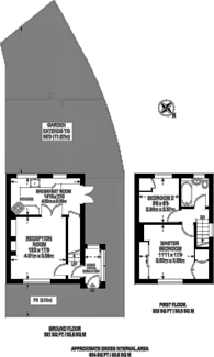 Large floorplan for Westcott Crescent, Ealing, W7