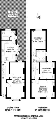 Large floorplan for Abbott Road, Poplar, E14