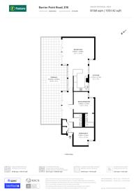Large floorplan for Barrier Point Road, Royal Docks, E16