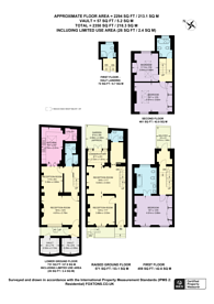 Large floorplan for Lincoln Street, Chelsea, SW3