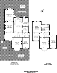 Large floorplan for Holmwood Road, Cheam, SM2