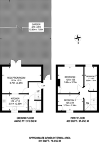 Large floorplan for Tollgate Road, Beckton, E16