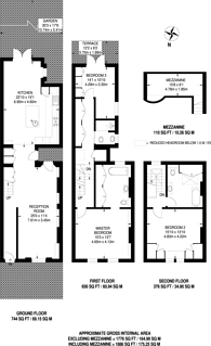 Large floorplan for Penzance Street, Notting Hill, W11