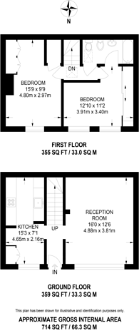 Large floorplan for Stanhope Mews South, South Kensington, SW7