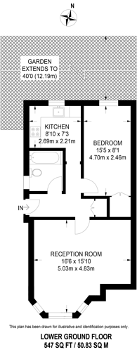 Large floorplan for Alexandra Road, Kingston, KT2