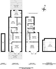 Large floorplan for Glenparke Road, Forest Gate, E7