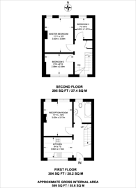 Large floorplan for Nelson Road, Whitton, TW2