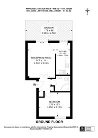 Large floorplan for Freethorpe Close, Crystal Palace, SE19