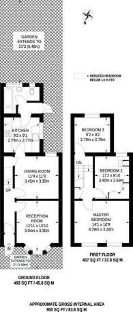 Large floorplan for Tweedmouth Road, Plaistow, E13