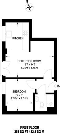Large floorplan for London Road, Sutton, SM3