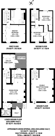 Large floorplan for Britten Street, Chelsea, SW3