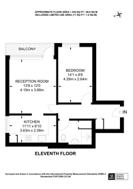 Large floorplan for Wimbledon Park Side, Wimbledon, SW19