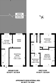 Large floorplan for Saracen Street, Poplar, E14