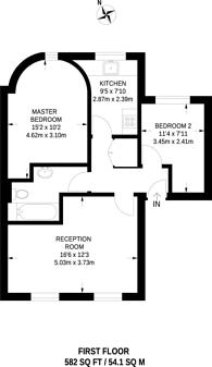 Large floorplan for Dalston Lane, Dalston, E8